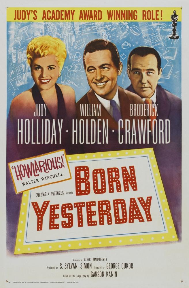 Рожденная вчера - Born Yesterday