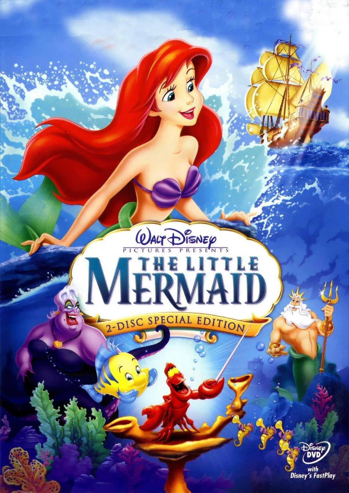 Русалочка: Дополнительные материалы - The Little Mermaid- Bonuces