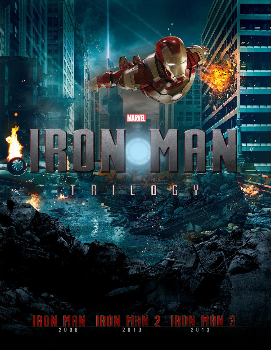 Железный человек: Трилогия - Iron Man- Trilogy