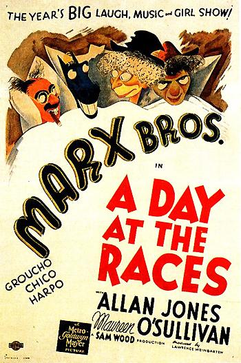 День на скачках - A Day at the Races