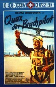 Квакс - незадачливый пилот - Quax, der Bruchpilot