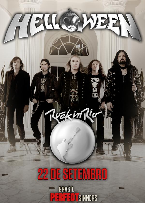 Helloween & Kai Hansen - Rock in Rio V