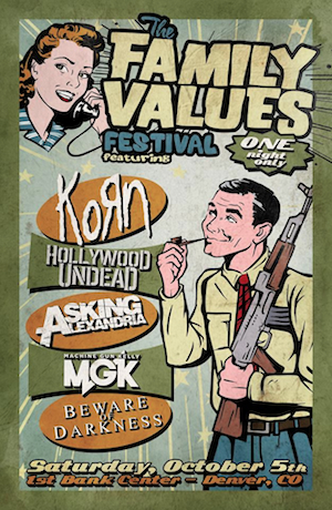 KoRn - Family Values Festival