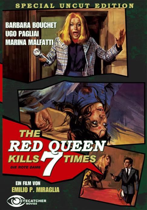 Красная Королева убивает семь раз - La Dama rossa uccide sette volte