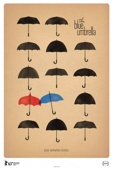 Синий зонтик - The Blue Umbrella