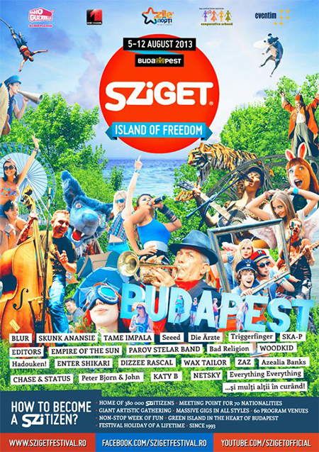 ��������� - Live in Sziget 2013