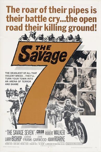 Дикая семёрка - The Savage Seven