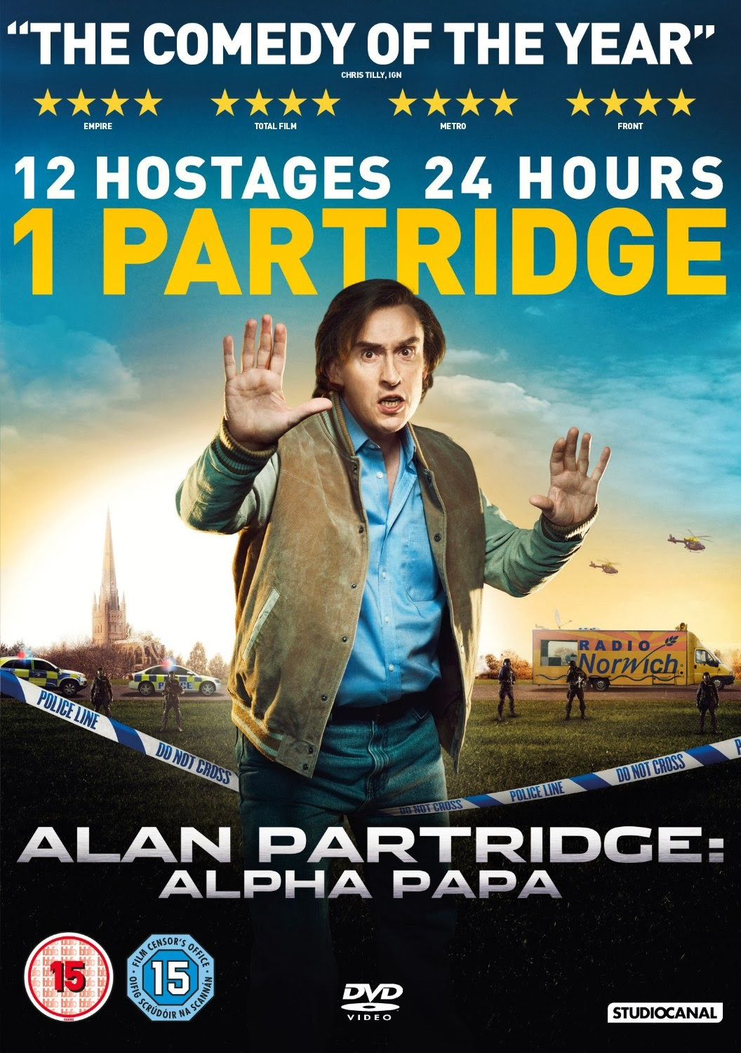 Алан Партридж - Alan Partridge- Alpha Papa