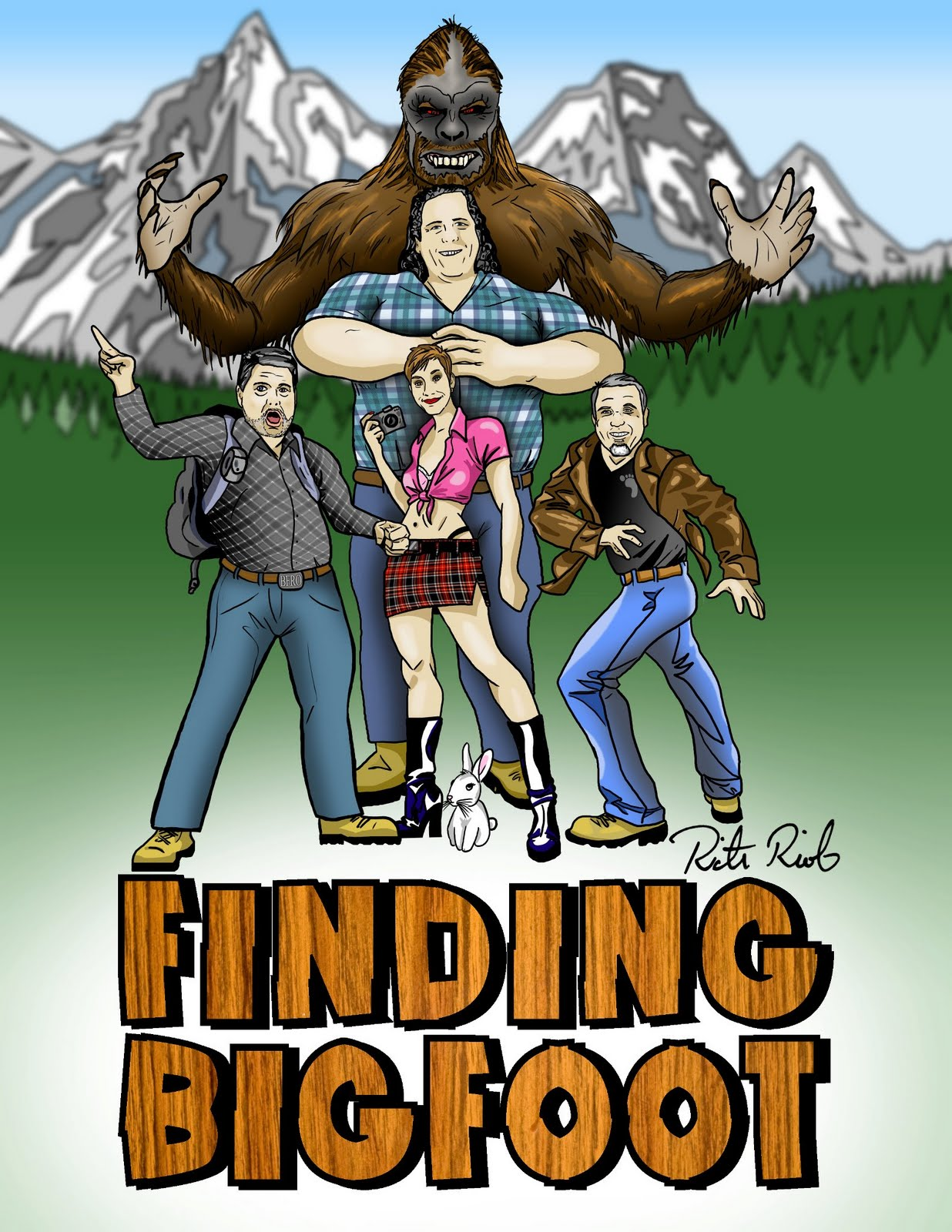 В поисках Йети - Finding Bigfoot