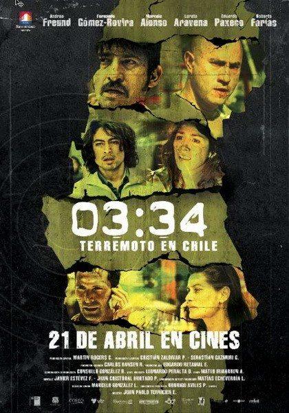 03:34 Землетрясение в Чили - 03-34 Terremoto en Chile