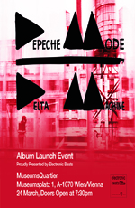 Depeche Mode - live at Delta Machine album launch, Vienna, March