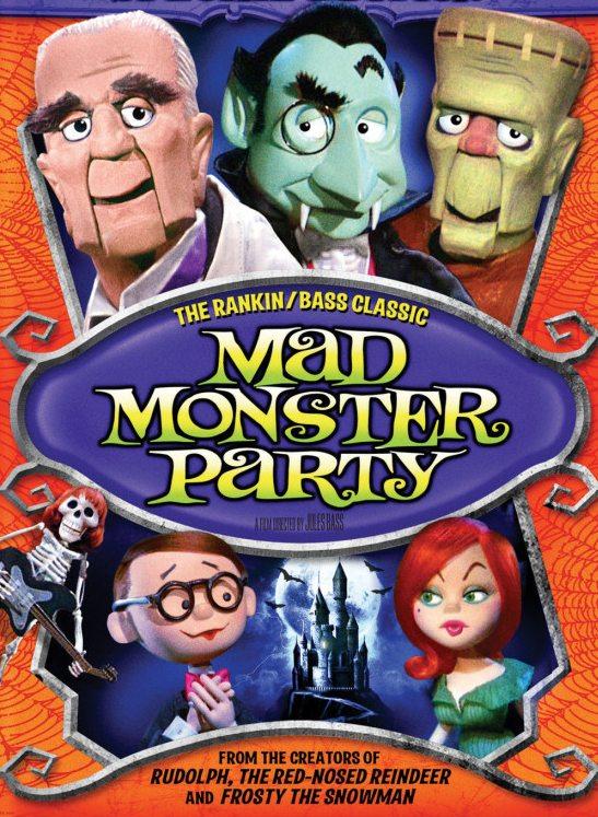 Сумасшедшая вечеринка чудовищ - Mad Monster Party?