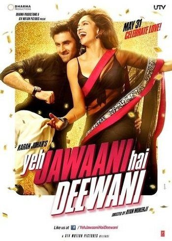 Эта сумасшедшая молодёжь - Yeh Jawaani Hai Deewani