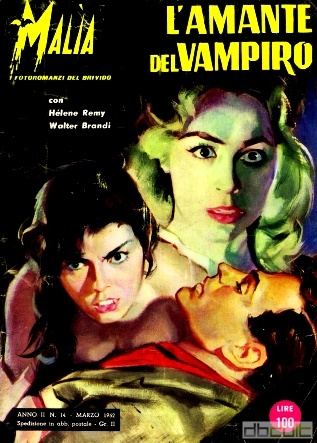 Возлюбленная вампира - L'Amante del Vampiro