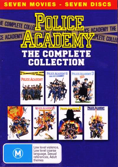 ����������� ��������: ��������� - Police Academy- The Complete Collection