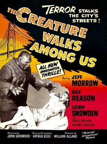 Тварь ходит среди нас - The Creature Walks Among Us