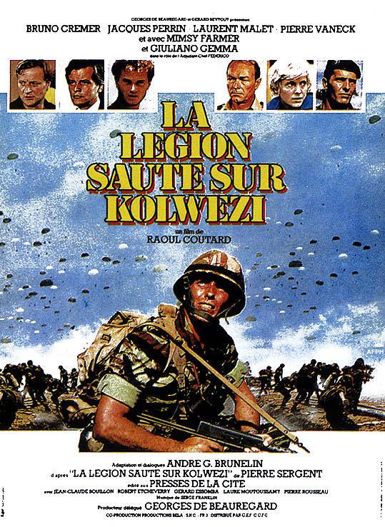 Легион высаживается в Кольвези - La lГ©gion saute sur Kolwezi
