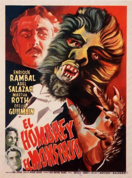 Человек и монстр - El hombre y el monstruo