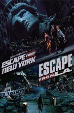 Побег из Нью-Йорка и Лос-Анджелеса: Дилогия - Escape from New York & L.A.