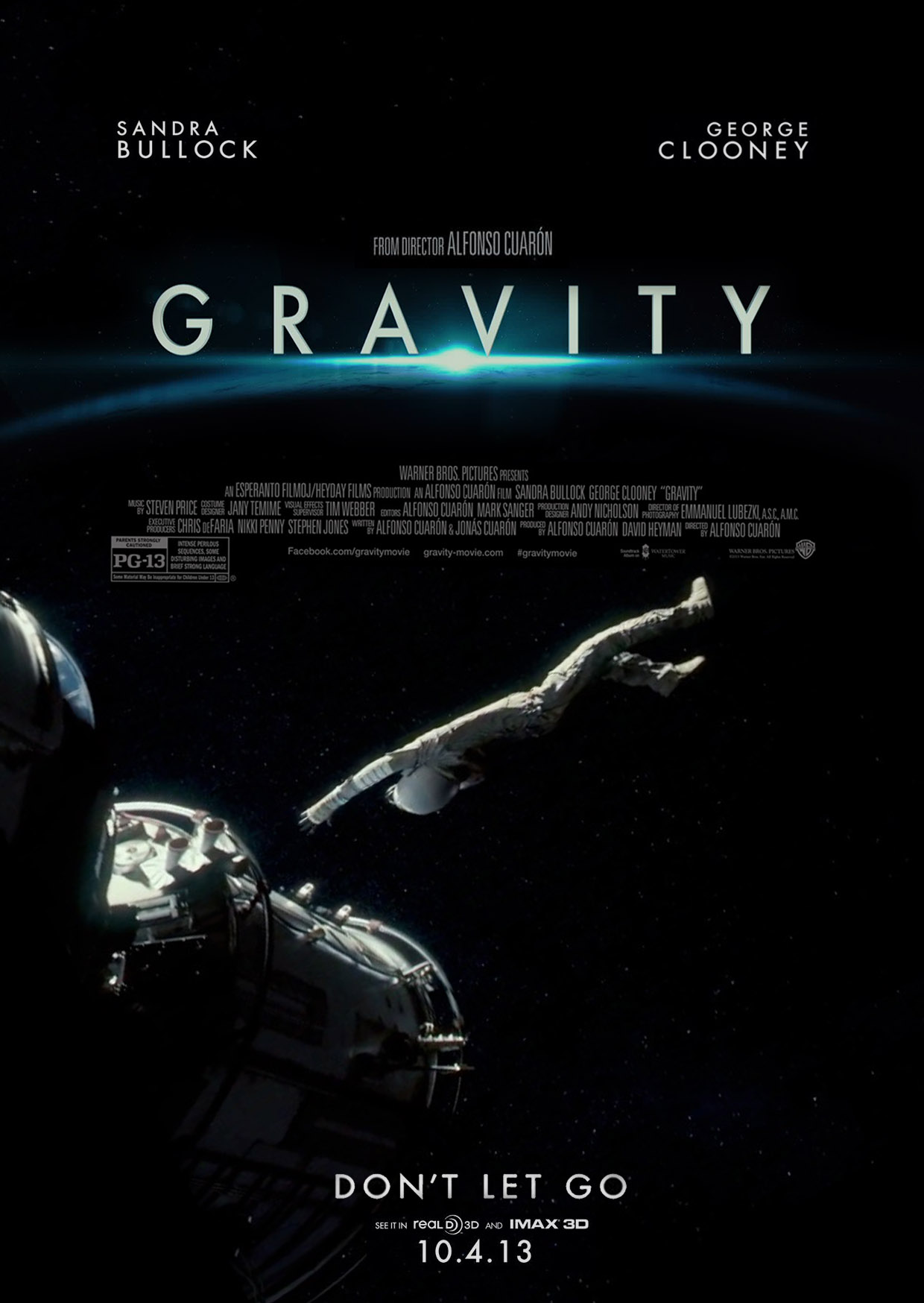 Гравитация: Дополнительные материалы - Gravity- Bonuces