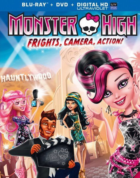 Школа монстров: Страх! Камера! Мотор! - Monster High- Frights, Camera, Action!