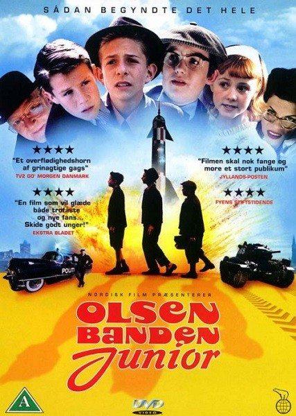 Банда Ольсена в юности - Olsen Banden Junior