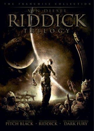 Риддик: Трилогия - Riddick- Trylogy