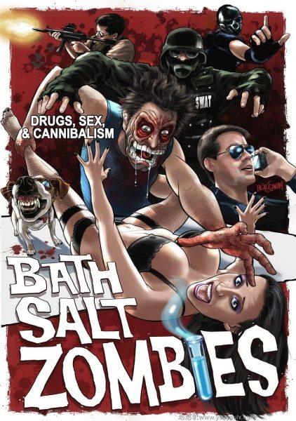 Дизайнерские Зомби - Bath Salt Zombies