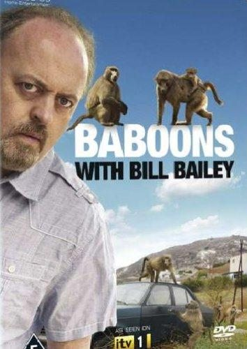 Билл Бэйли и павианы - Baboons with Bill Bailey