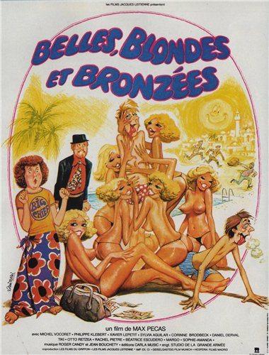 Красивые загорелые блондинки - Belles blondes et bronzees