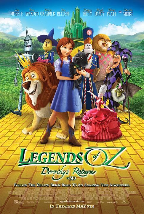 Оз: Возвращение в Изумрудный Город - Legends of Oz- Dorothy's Return