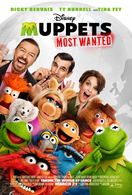 Маппеты 2 - Muppets Most Wanted
