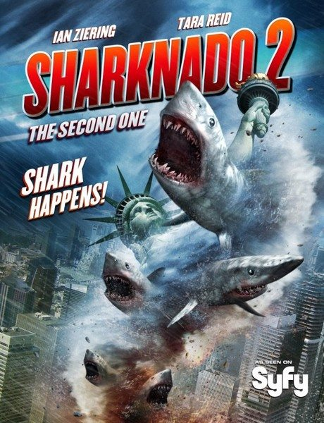Акулий торнадо 2 - Sharknado 2- The Second One