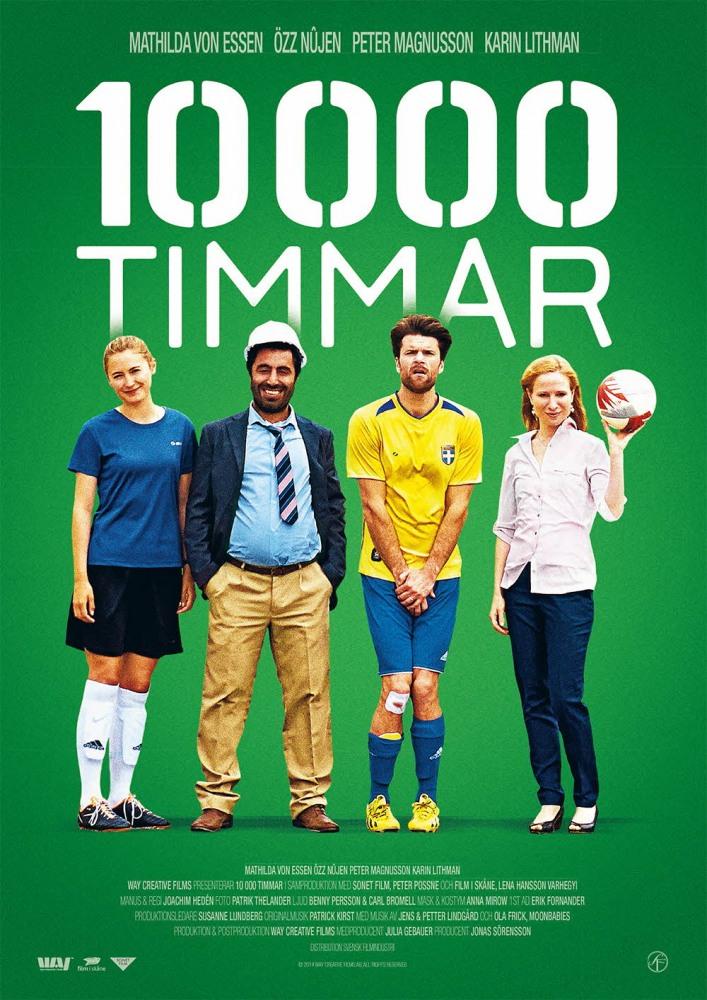 10000 часов - 10 000 timmar