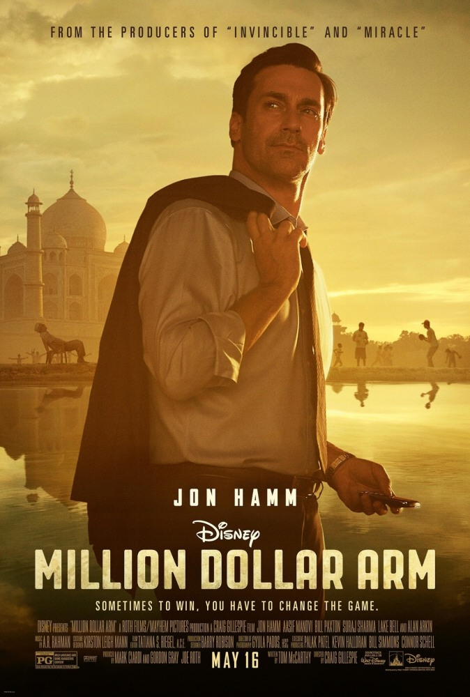 Рука на миллион - Million Dollar Arm