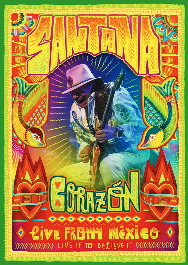 Santana - Corazon: Live from Mexico - Live It To Believe
