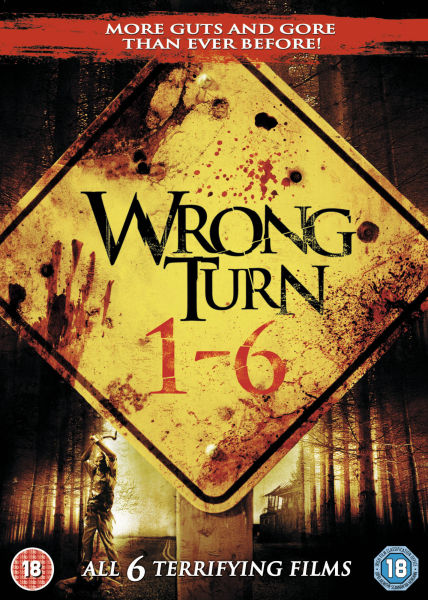 Поворот не туда: Антология (1-6) - Wrong Turn- Antology