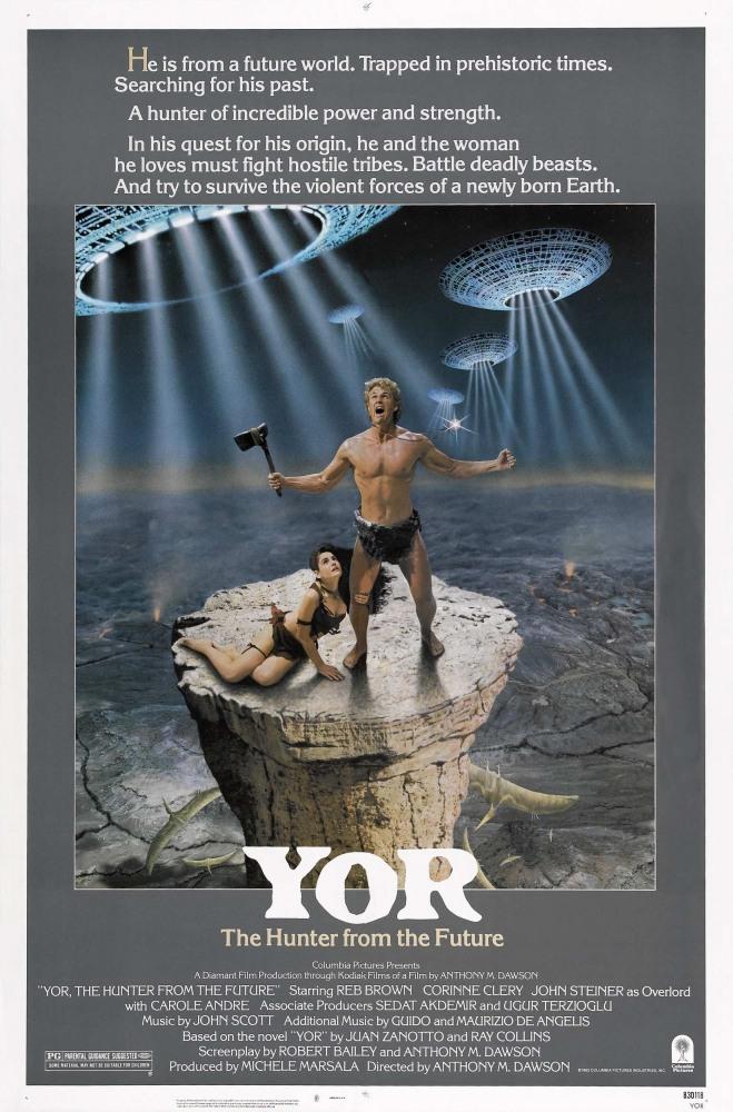 Йор, охотник будущего - Il mondo di Yor