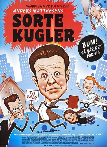 Чёрные шары - Sorte kugler