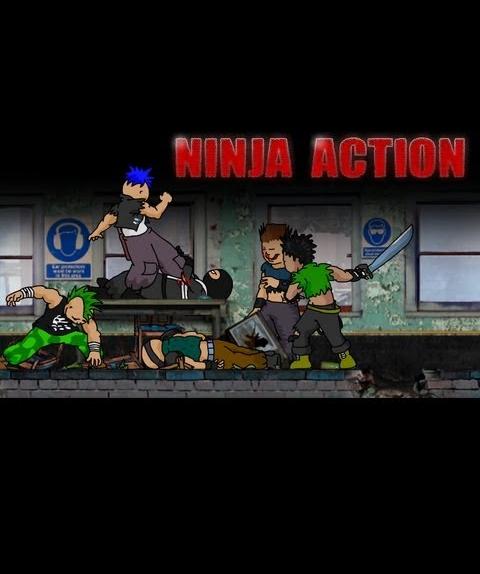 Ниндзя в деле - Ninja Action