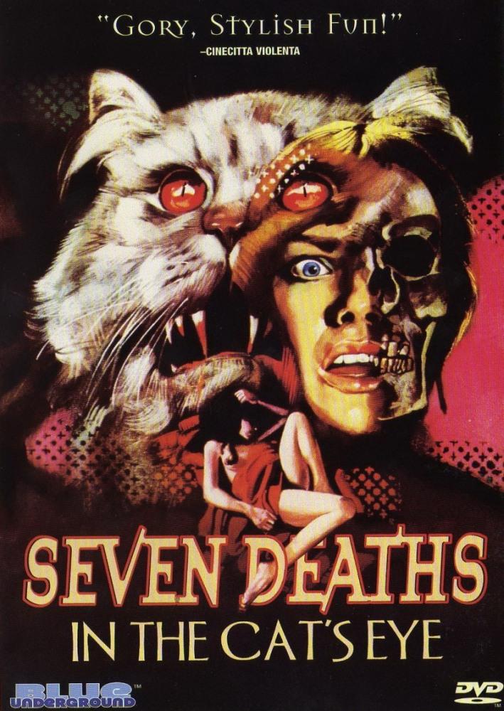 Смерть отображается в кошачьих глазах - La morte negli occhi del gatto