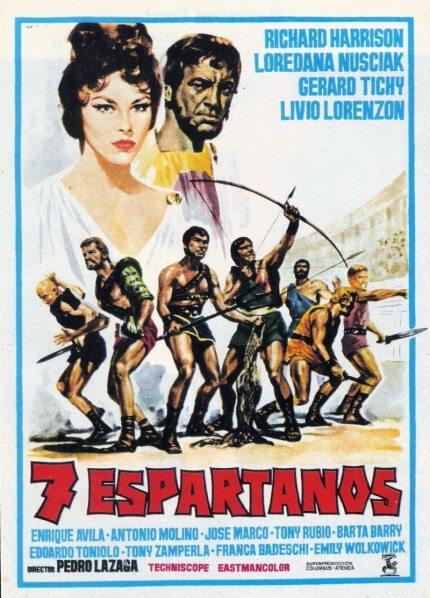 Восстание семерки - I sette gladiatori