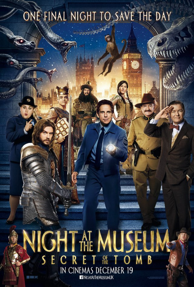 ���� � �����: ������ ��������: �������������� ��������� - Night at the Museum- Secret of the Tomb- Bonuces