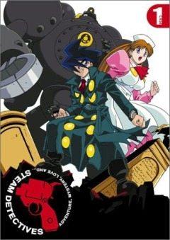 Паровые детективы - Kaiketsu Jouki Tanteidan