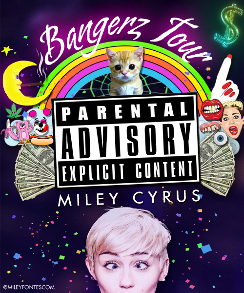 Miley Cyrus - Bangerz Tour