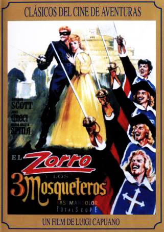 ����� � ��� ��������� - Zorro e i tre moschettieri