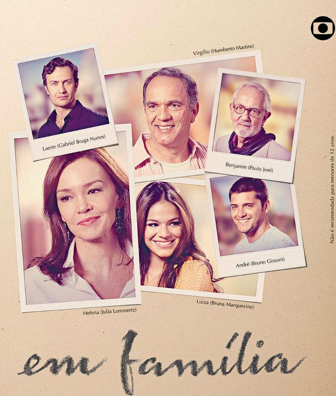 В семье - Em FamГlia