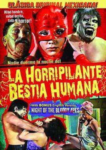 Ночь кровавых обезьян - La horripilante bestia humana