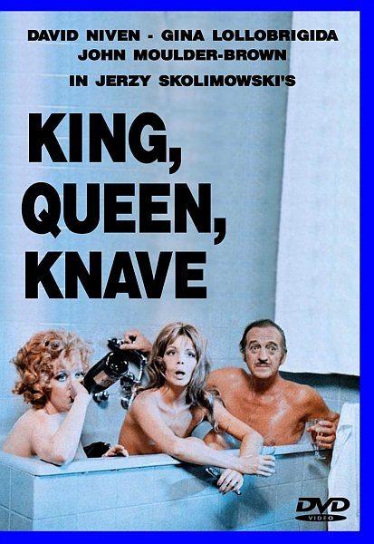 Король, дама, валет - King, Queen, Knave