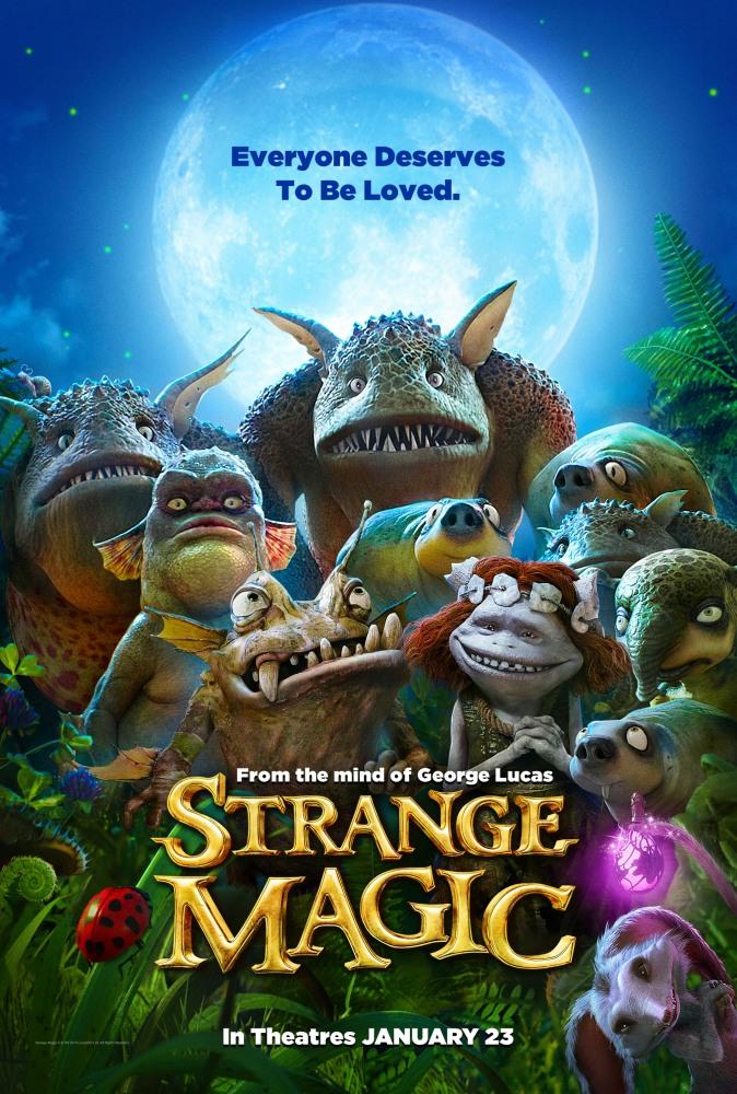 Странная магия - Strange Magic